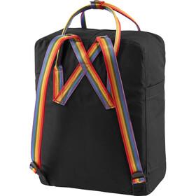 Fjällräven Kånken Rainbow Zaino, black/rainbow pattern